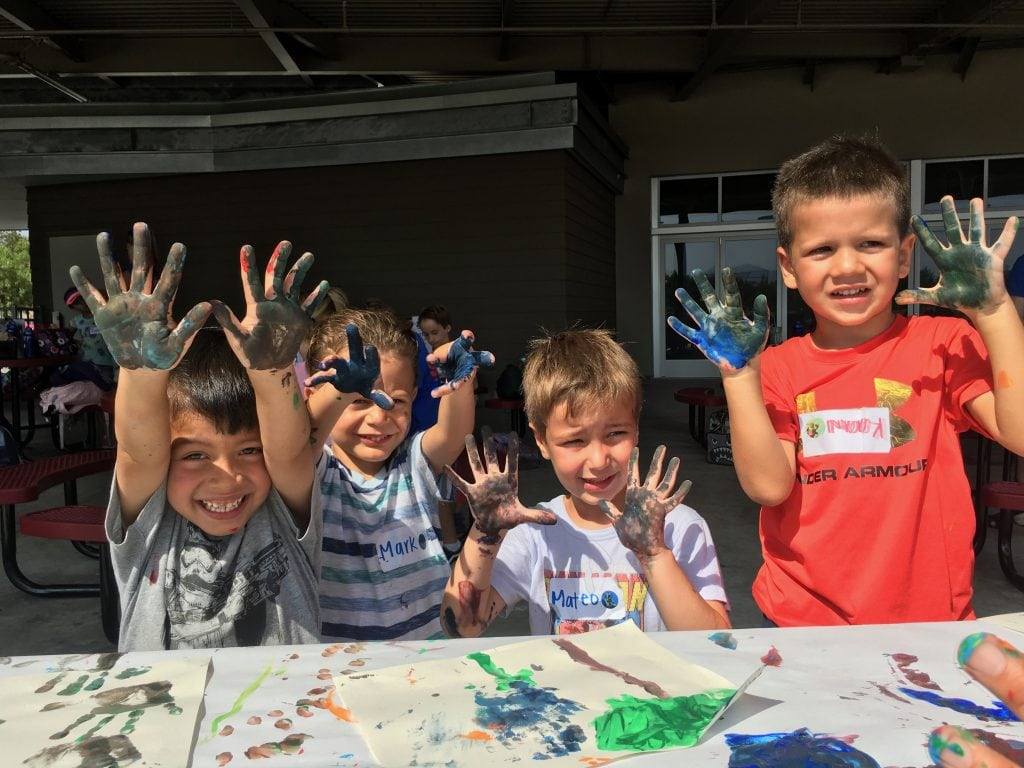 junior summer kids camp for kids 4 - kindergarten